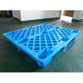 网格九脚塑料托盘1210塑胶卡板轻型叉车托盘仓库周转塑料垫板批发