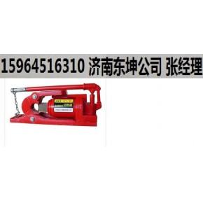 山东济南桥梁施工维护用QX-48液压钢丝绳切断机好用含税含运费