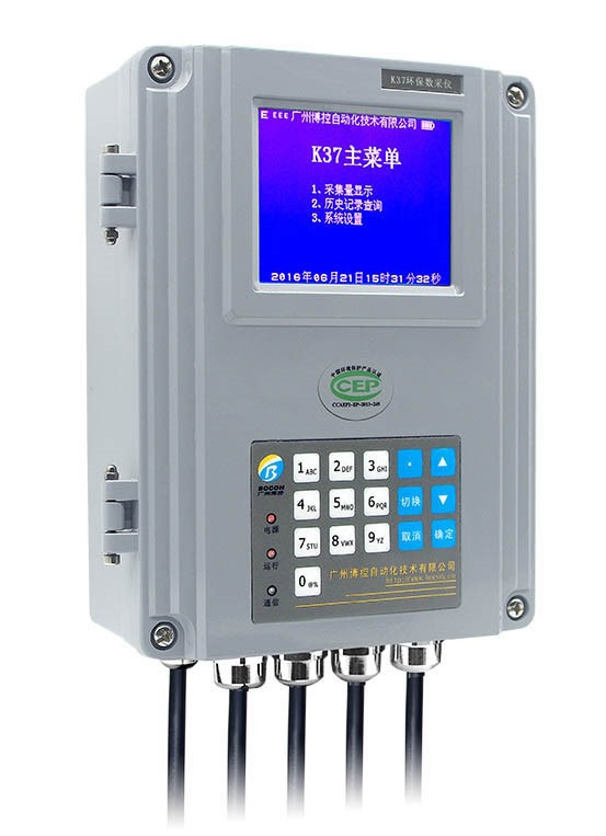 K37环保数采仪在污染源监控中的应用