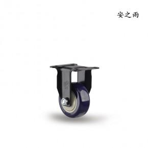 3寸定向脚轮 物流仓储脚轮 上鑫高承重耐用万向轮