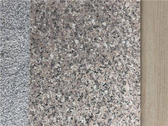 花岗岩樱花红多少钱一方 长虹石材干挂板材 花岗岩樱花红