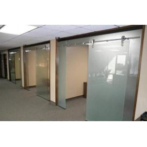 办公磨砂玻璃隔断安装电话 太原玻璃隔断中心