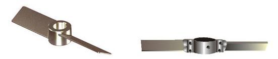 萍鄉斜葉槳式攪拌器 德凱攪拌器品質牢靠 斜葉槳式攪拌器廠家 圖1