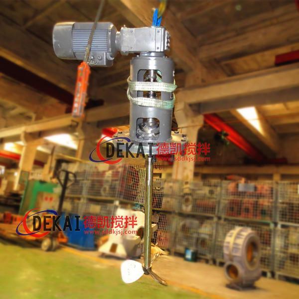 常山電廠脫硫攪拌器 電廠脫硫攪拌器生產廠家 德凱攪拌器 圖1