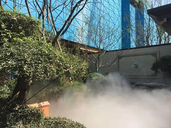 济南景区雾森系统 【绿森环保设备】 景区雾森系统