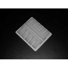厂家定做医药品内托吸塑药托PVC西林瓶托盘ps冻干粉塑料吸塑包装
