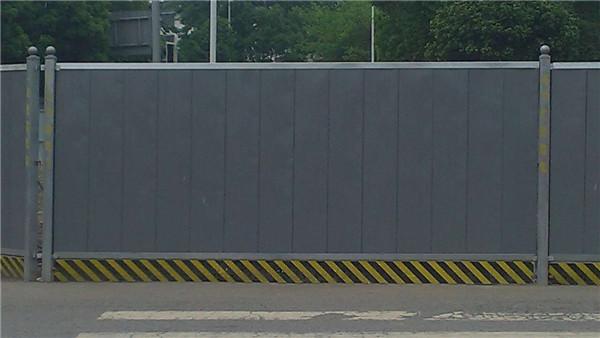 成都地鐵單面彩鋼圍擋租賃 圍擋 荔枝機械設備