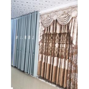 吉安新干 玲瓏布藝窗簾 墻布批發供應商 包上門安裝