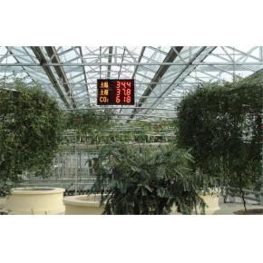 温室大棚空气温度、湿度、光照强度、土壤水分温度、二氧化碳浓度、叶面湿度、露点温度