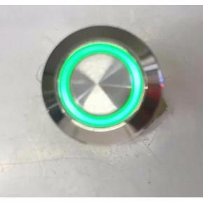 QX12F-E 设备 12mm 自复 带灯 平头 按钮开关指示灯