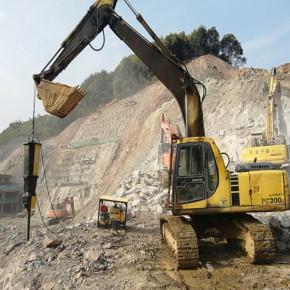 汉中高速路扩建混凝土劈石机原理说明