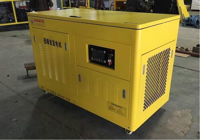 水产养殖用35kw汽油发电机