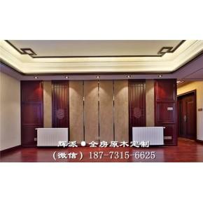 湖南原木家具厂、原木书柜、餐边柜定制细节处理