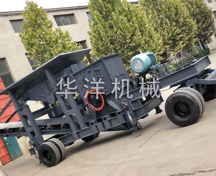 鵝卵石制砂機械 華洋機械制造節能環保 黔東南鵝卵石制砂機