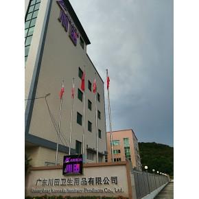 广东川田致力于OEM贴牌和ODM代加工有温度的卫生巾