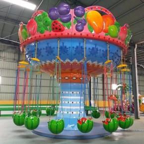 儿童游乐场怎么加盟 小型西瓜飞椅怎么买 投资游乐场小项目赚钱吗