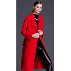 好一点的女装货源三彩韩版双面尼羊绒大衣