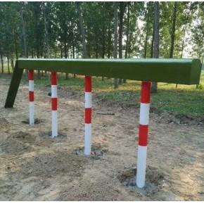 岳陽軍隊障礙器材廠家標準400米一套價格