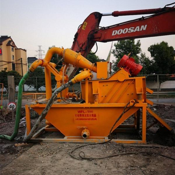 黑河振動篩泥漿處理器持續工作