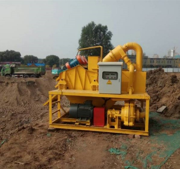 吉安公路打桩泥浆处理器技术原理