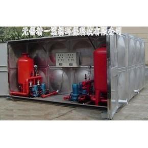 箱泵一体不锈钢水箱 无锡精一泓扬公司倾力打造 全程安装调试
