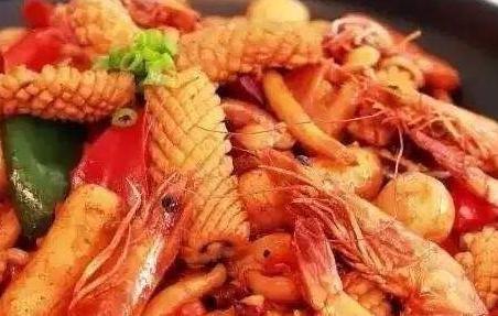 湖南鲜虾鱿鱼煲培训 长沙鲜虾鱿鱼煲培训