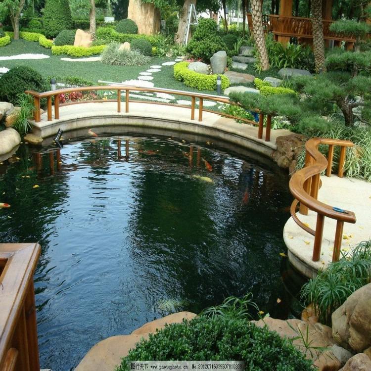 景區魚池凈化設備,別墅私人魚池凈化設備