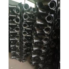 泫氏国标型铸铁管 B型双彎頭 变径管件