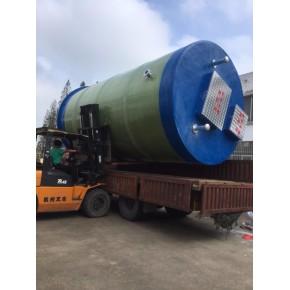 福建一体化污水提升泵站的维保方式