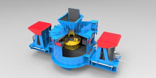 洛阳大华重工专供 PLK系列立轴冲击式破碎机/制砂机