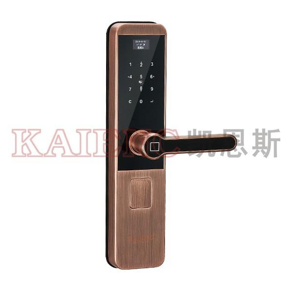 广东指纹锁 智能锁 凯恩斯指纹锁厂家供应