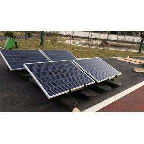 安徽宝绿太阳能曝气机的运行特点法及安装方法