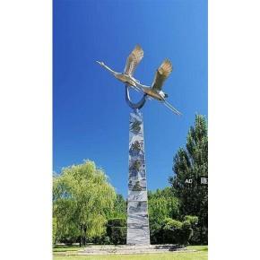 不锈钢雕塑雕刻 金华不锈钢雕塑 曲阳旺通石材雕塑厂