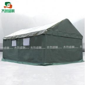 工地施工帐篷 齐鲁帐篷 防水 石家庄施工帐篷