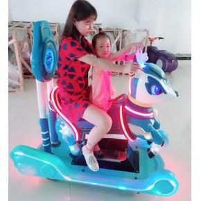 轩辕神鹿是哪个厂家的   郑州淘趣城游乐设备 神驹露露