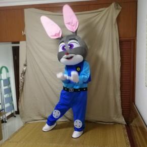 贛州人偶服裝科尼毛絨公仔兔子定制