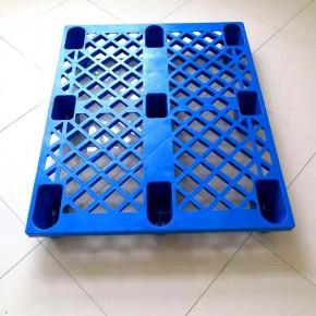 河南九脚网格托盘1210 塑胶卡板 仓储防潮垫板