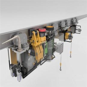 单轨吊专业生产 TDY100/14单轨吊优惠供应 矿用单轨吊