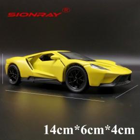 晟润1:36新款福特GT合金玩具車模型