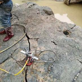 路面拓宽挖基坑破碎坚硬岩石机械福州厦门实例操作