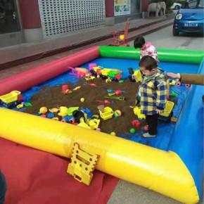 兒童遊樂玩具充氣水池沙池釣魚池廠家直銷