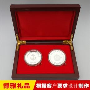 纪念章定做 纪念币定制 金属纪念章 纯银纪念章制作