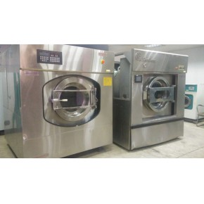 水洗機烘幹機燙平機折疊機幹洗機二手洗滌設備石家莊供應
