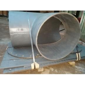 河北耐磨钢板厂家直销堆焊大直径三通管 加工双金属耐磨管道