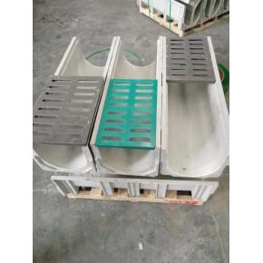 河北樹脂排水溝成品U型溝槽U150-250-1000