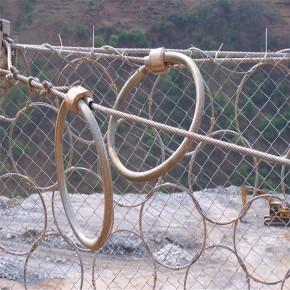 被動攔石防護網