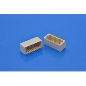 供应A1001 1.0间距双排卧贴Wafer针座