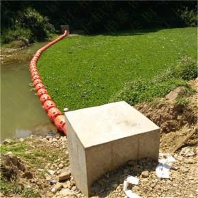 水面攔截垃圾塑料浮筒柱形攔汙浮體