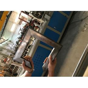 提高效率首選不鏽鋼貨架方管沖90度角一次成型