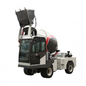 中科2.0方四轮自动一体混凝土搅拌车 新型车载移动商混搅拌站
